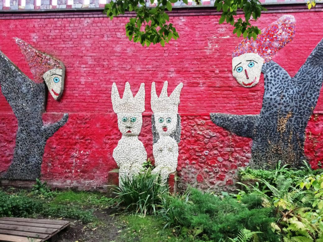 Honfleur jardin Forge